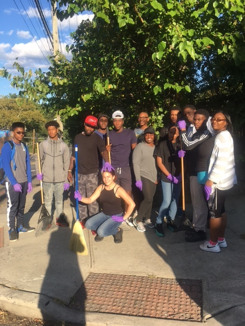 Mount Vernon RC Youth - Reality Check from Mount Vernon on a Tobacco Free Outdoors environmental clean up mission  for #seenenoughtobaccoday