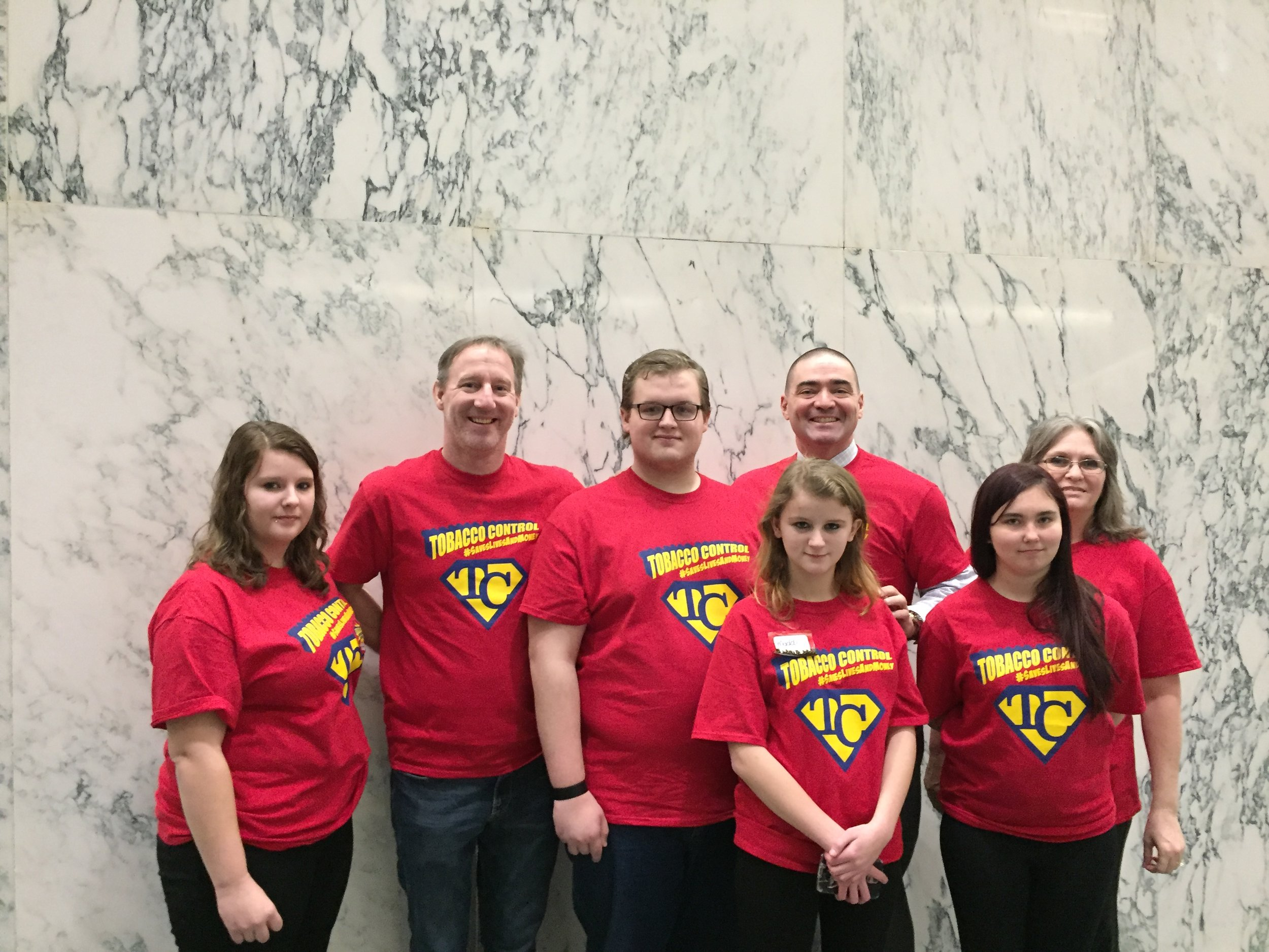 Chenango County RC - Norwich Reality Check youth from Chenango County checking in with Senator Akshar