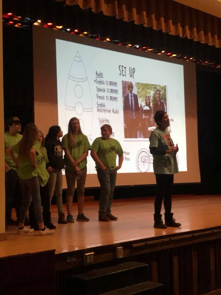 Chazy High School's RC met on Feb. 17 for a free showing of the movie Wonder. Great movie, with an even better message, and not a single scene with smoking.