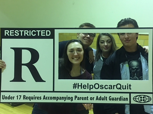 West Valley's Reality Check getting their # on at their local movie night. #HelpOscarQuit
