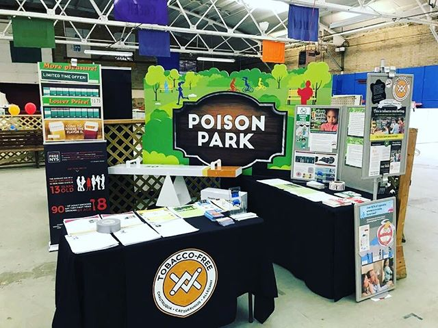 If your in Chautauqua County come check out our display at the fair.#SeenEnoughTobacco