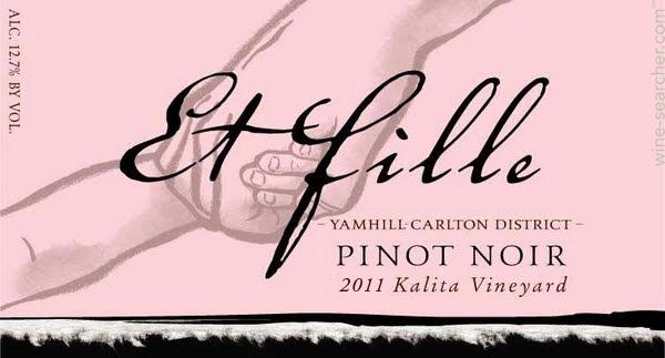 Kalita Vineyard Et Fille Pinot Noir