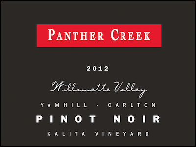 Kalita Vineyard Panther Creek Pinot Noir