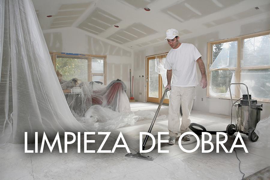 Limpieza de obra
