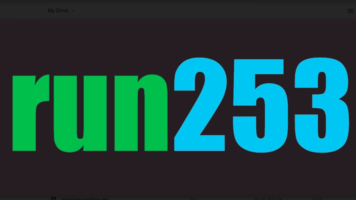 Run253 - Run253 was founded in 2018 as a resource for the local running community. Please consider supporting them by purchasing some sweet gear at run253.com.