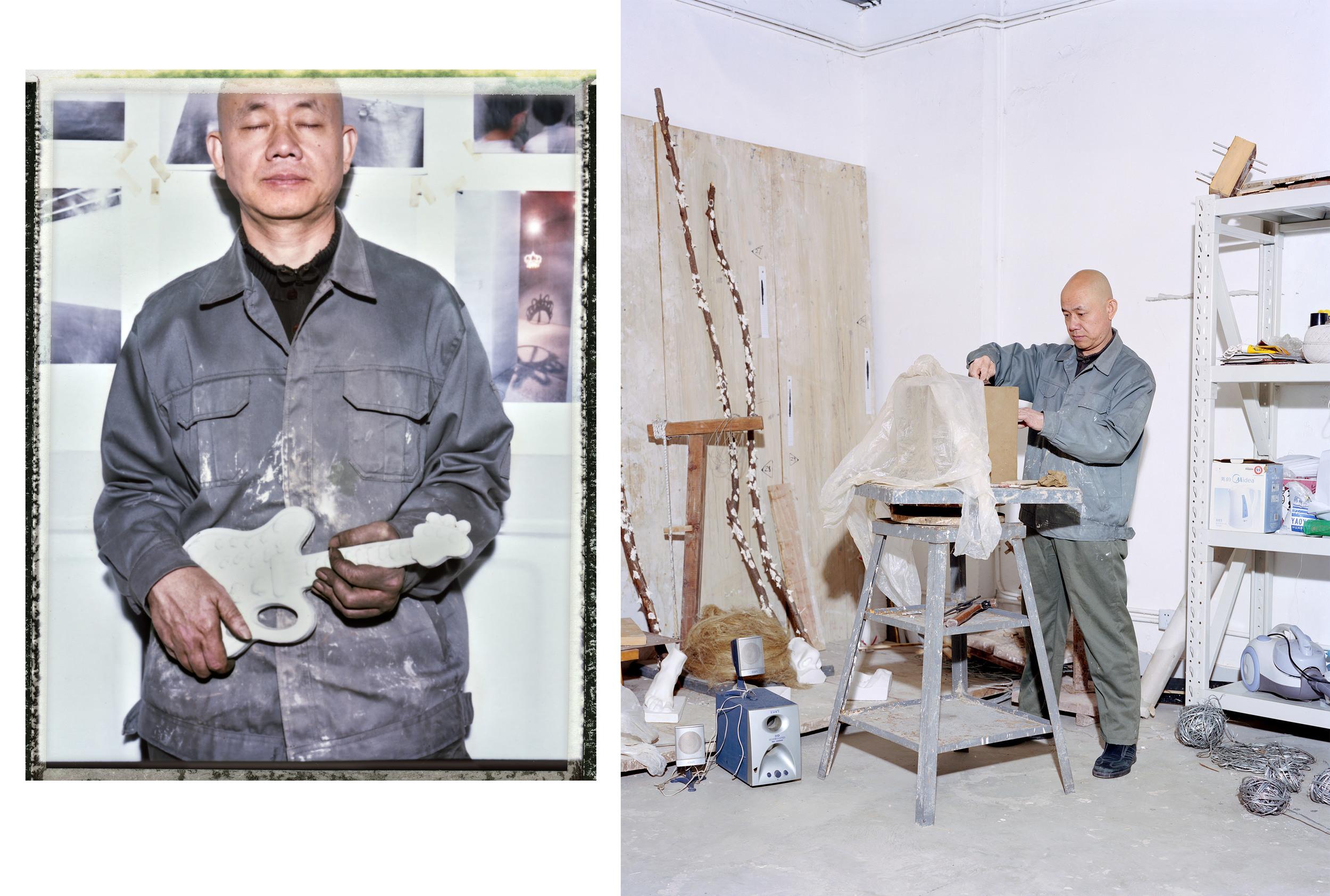 Artist Liu Jian Hua