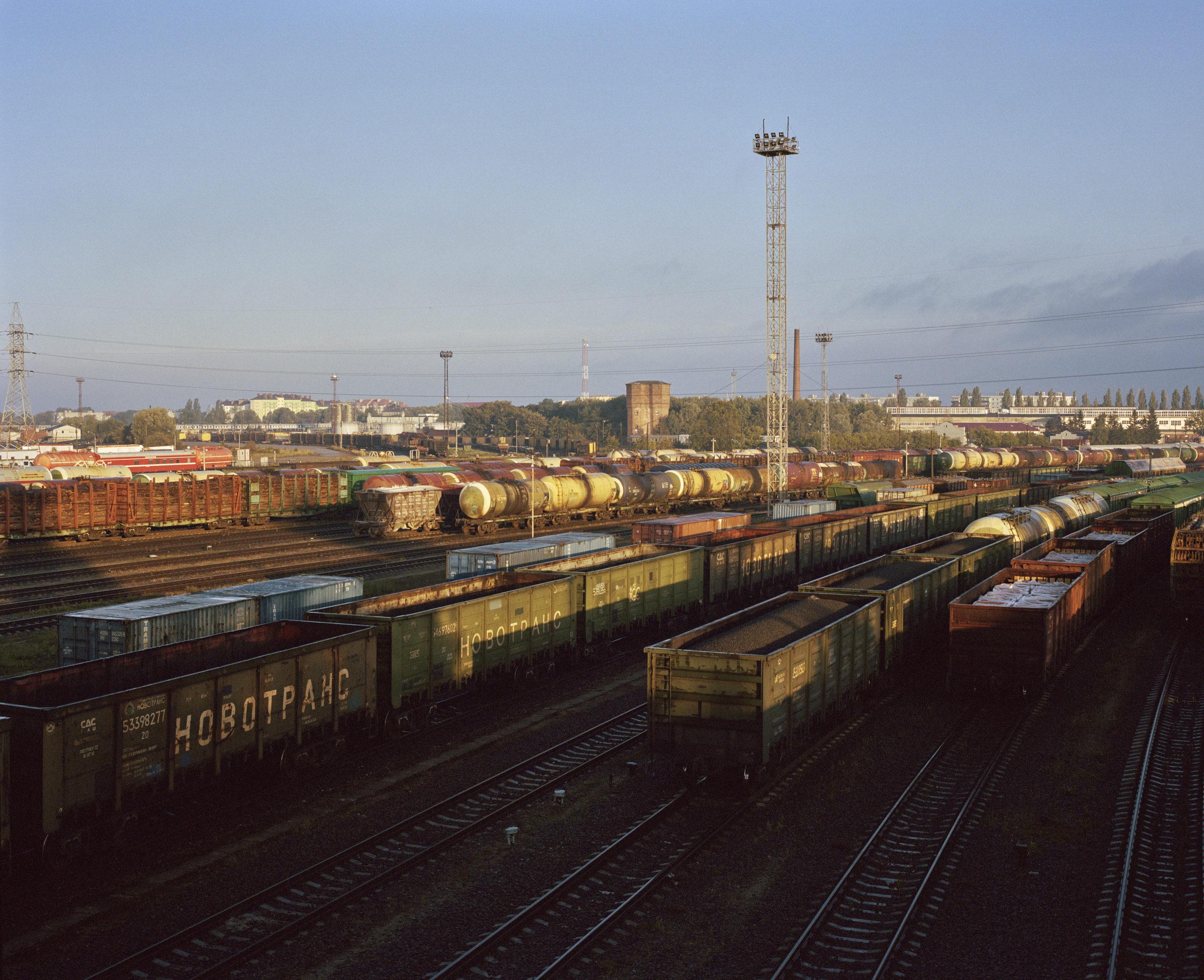 Cargo train station, Kaliningrad