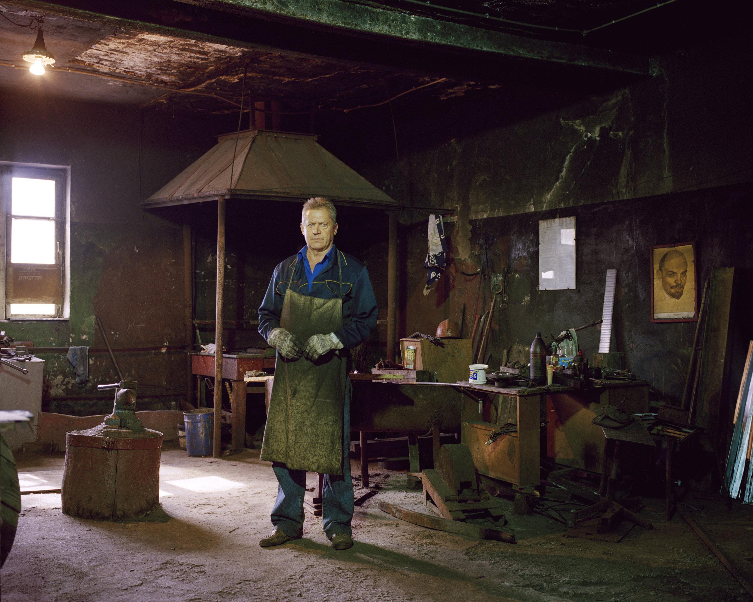 Tram Depot blacksmith Romanovic Valerij Grigorievic, Kaliningrad
