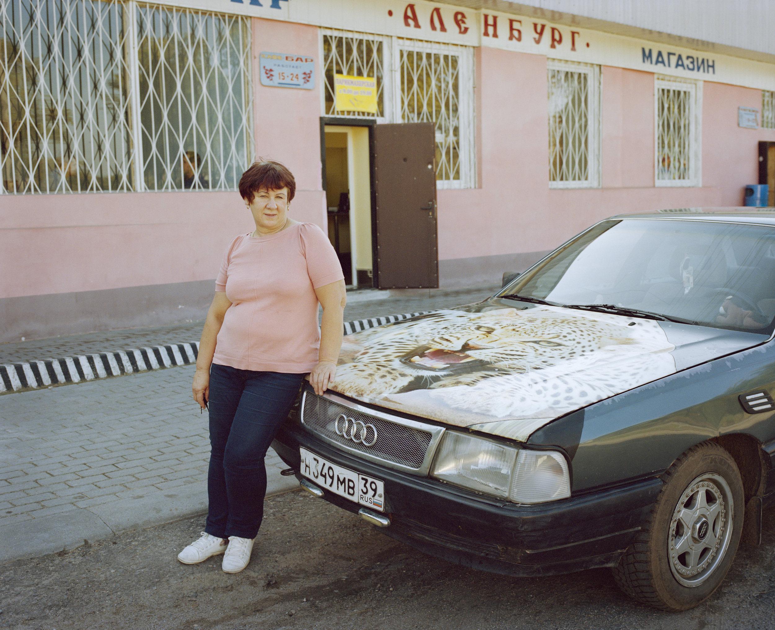 Nadiezda Michailovna, Druzba village, Kaliningrad