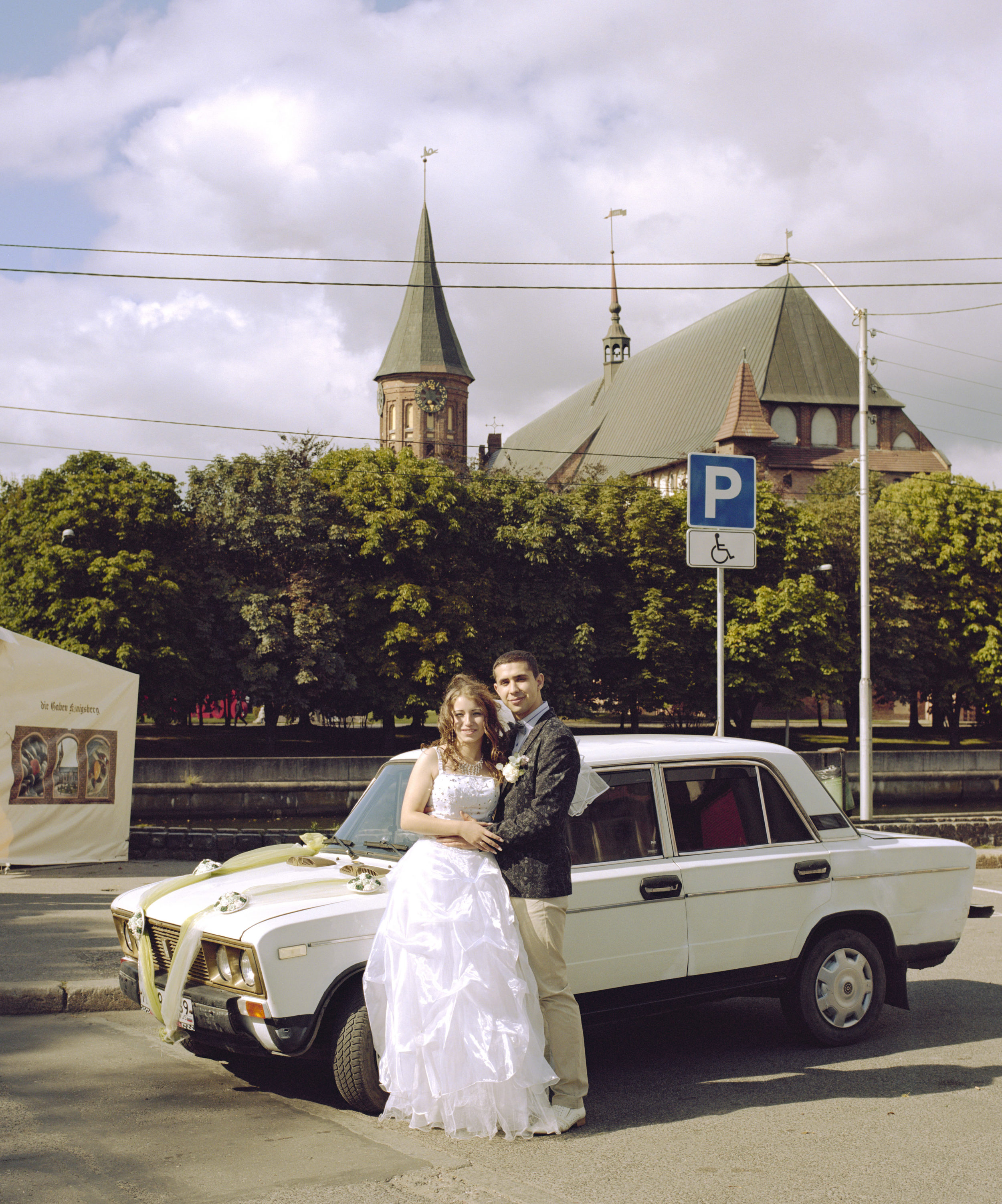 Viktoria & Sergey just married, Kaliningrad