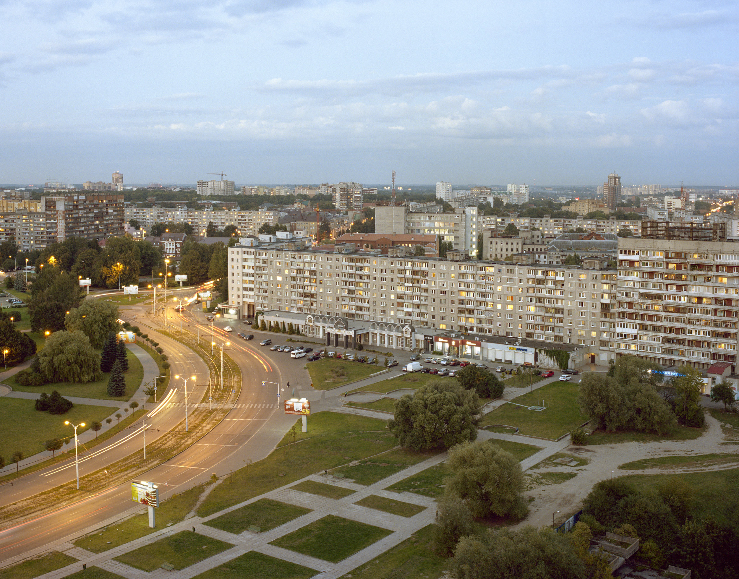 View from house of soviets, Kaliningrad