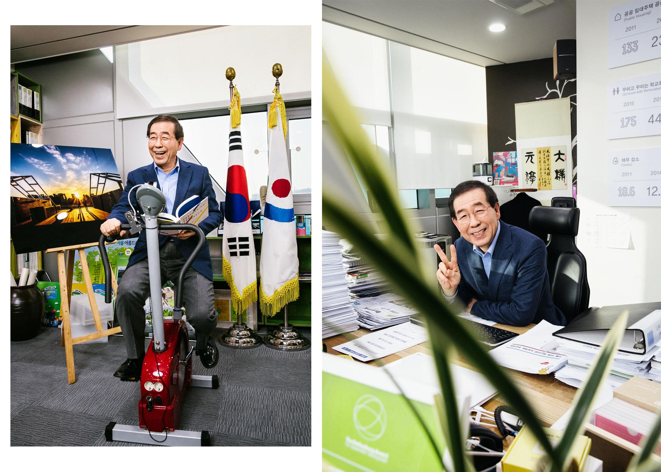 Park Won-soon, mayor of Seoul