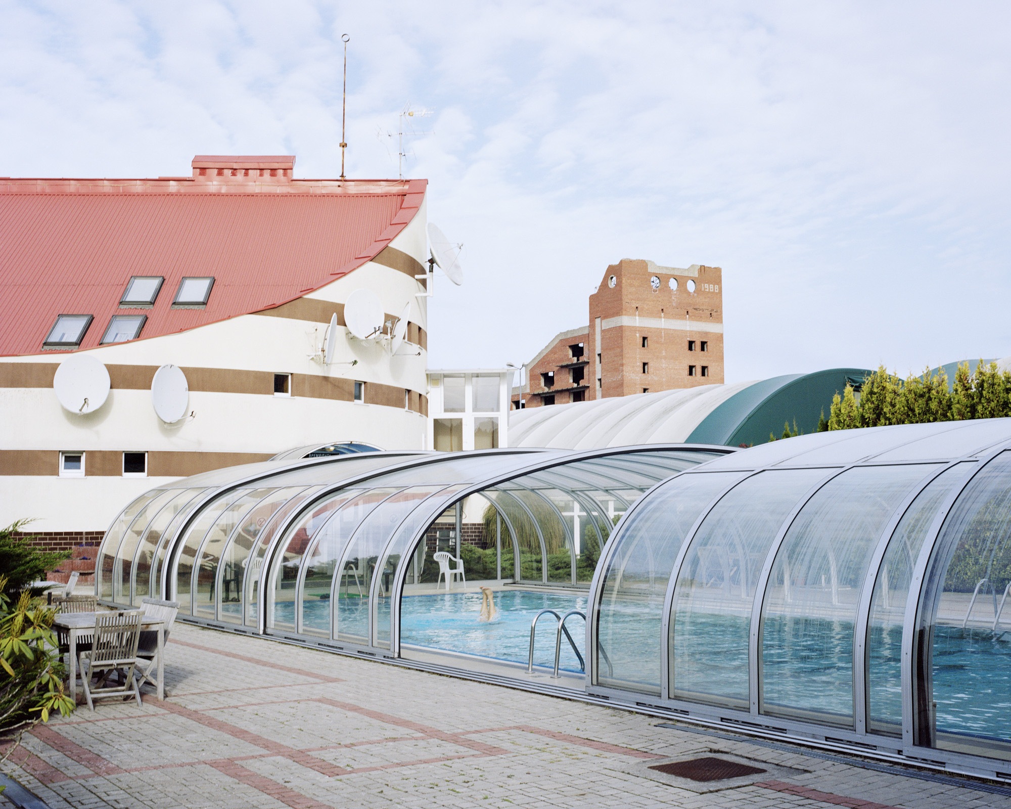 Swiming pool of hotel Okean, Kaliningrad