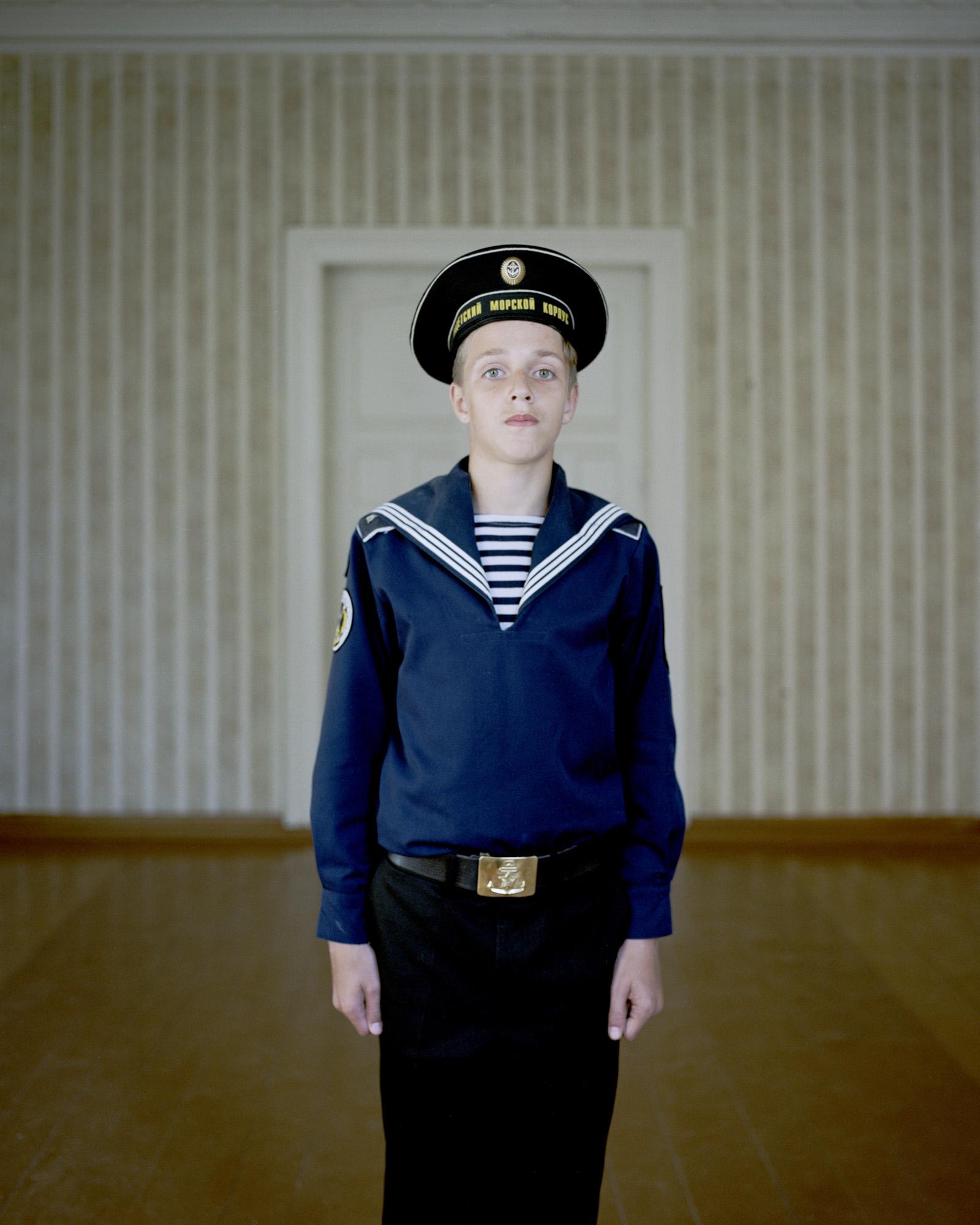 Navy cadet Dmitrij Gamzov Aleksandrovic 12, Kaliningrad