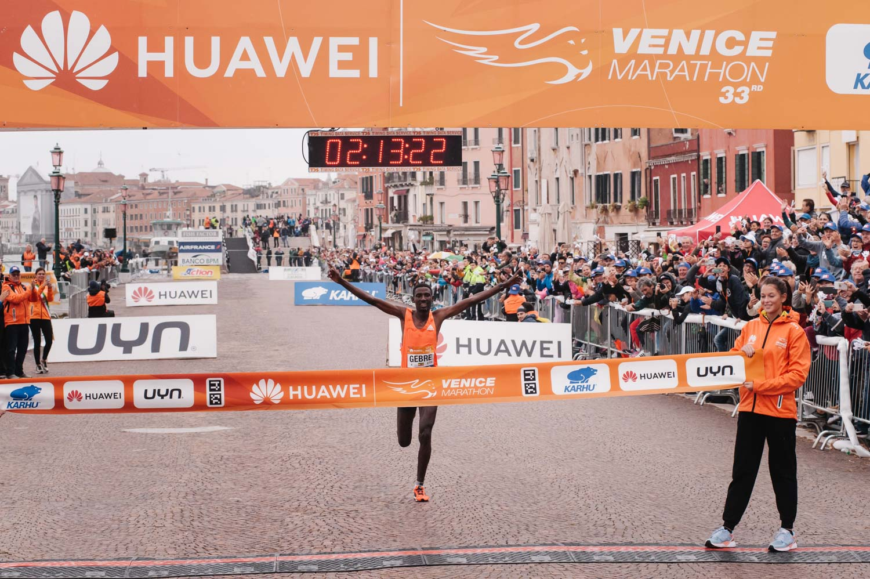 Venice Marathon - Huawei Sponsorship