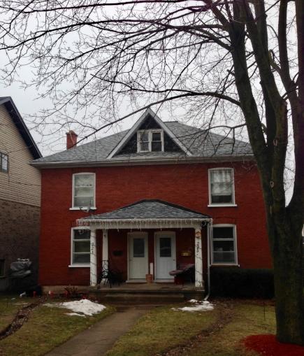 Geordie's house.