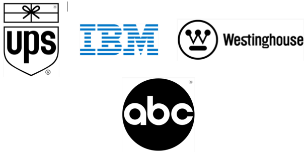 Just four of Paul Rand's* remarkable logos.