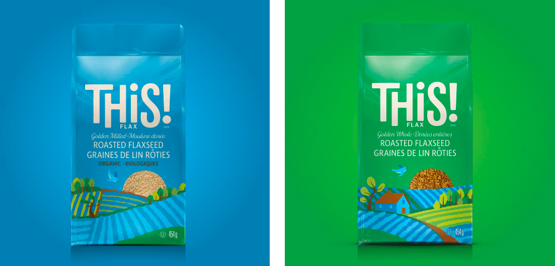 Working in collaboration with Make* Branding and Design we helped this flax producer create a name which encourages people to buy THiS!