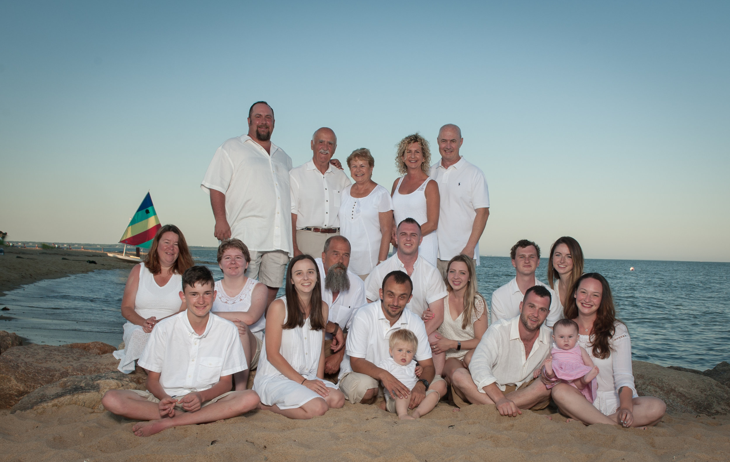 Large family sessions are the perfect way to document a moment in time. Fleeting Moments Photography makes sessions fun and painless.