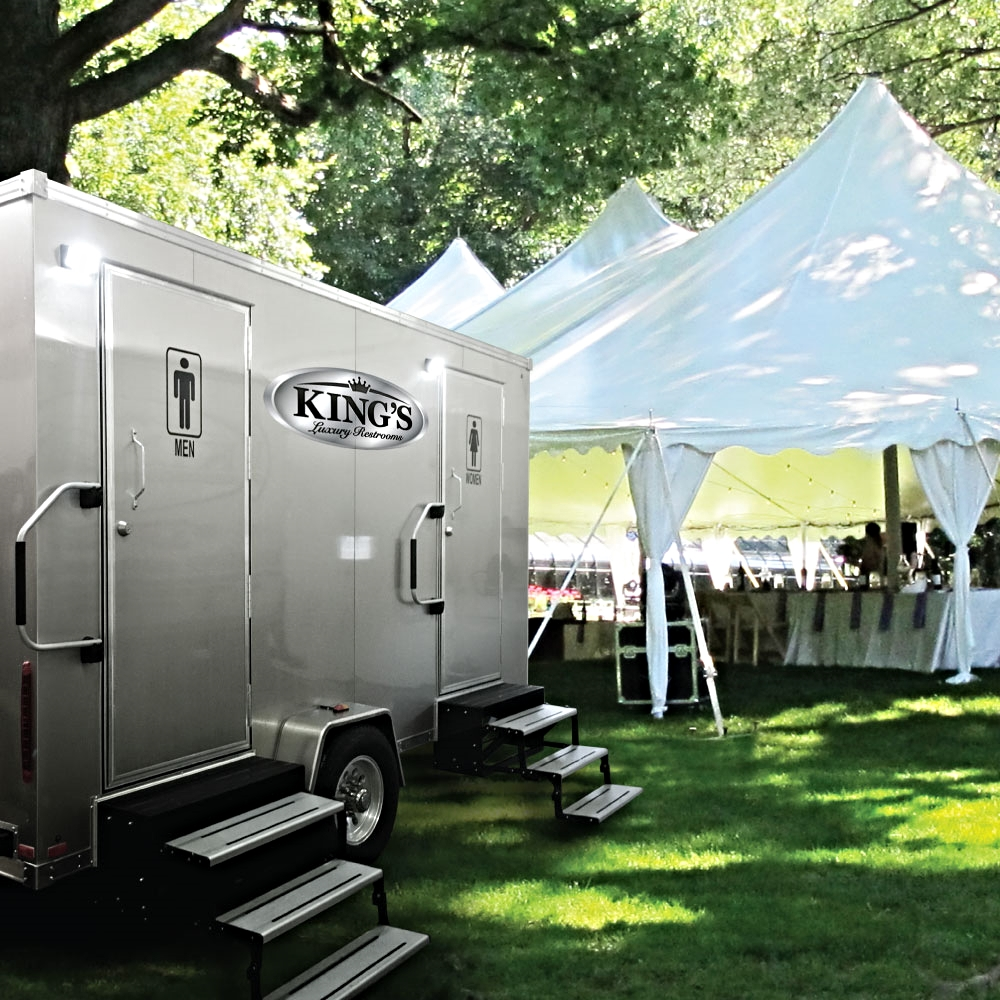 King's Luxury Restroom Trailer Rentals