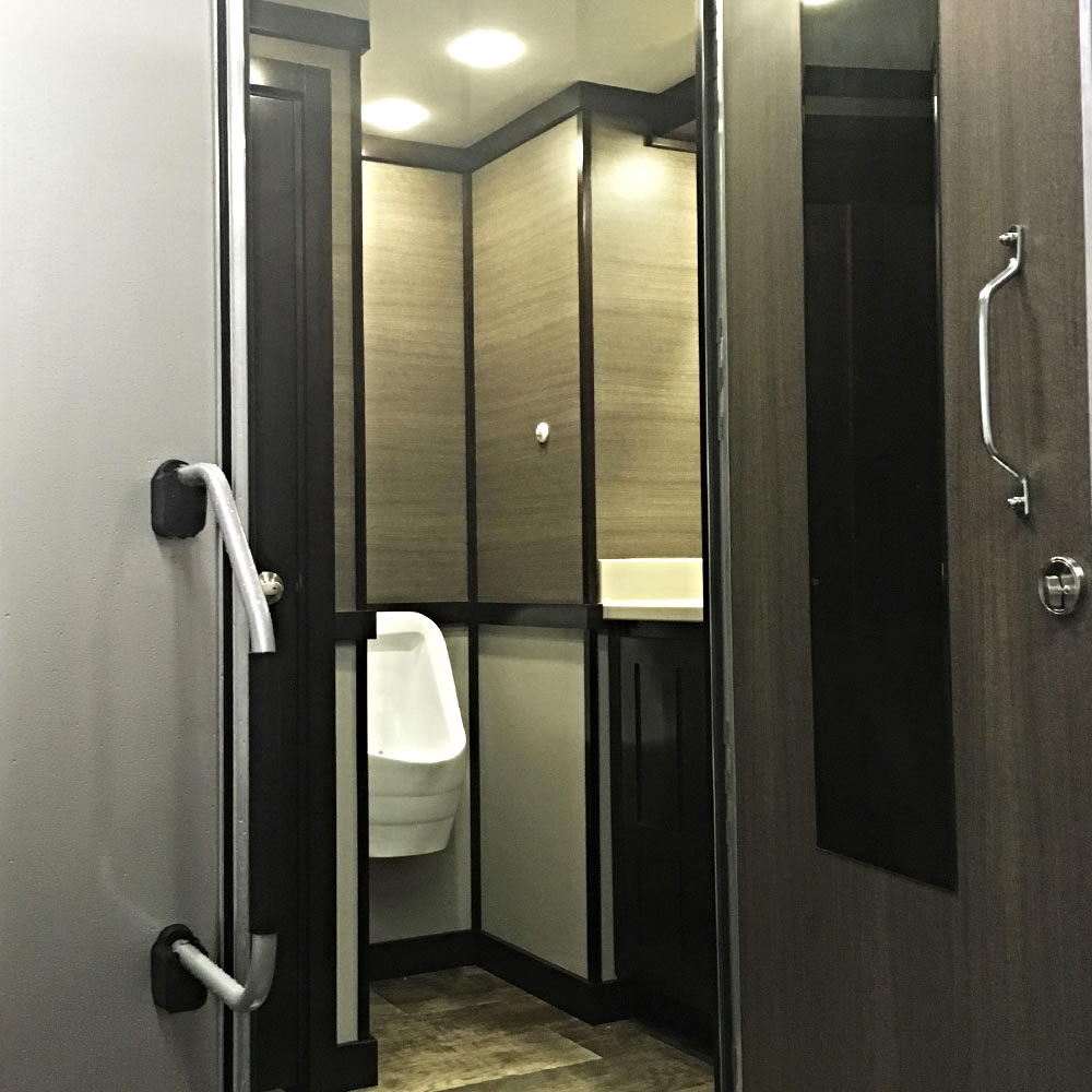 Luxury Restroom Trailers - Men's Facilities