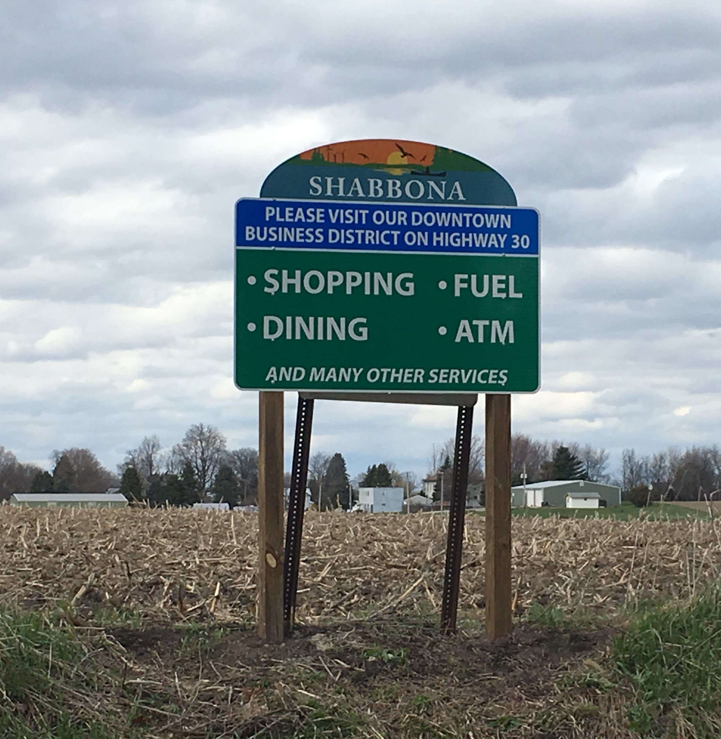 2019 Wayfinding signs - Pictured sign was installed on Preserve Road across from park entrance/exit