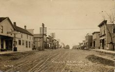 Shabbona , illinois circa 1907
