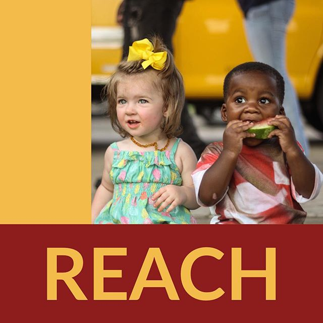 Reach. We do not aim for bigger crowds each year for growths sake. We aim to grow each year so that we can reach more people every year through a growing network.