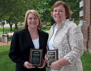 Diane Wright (right)