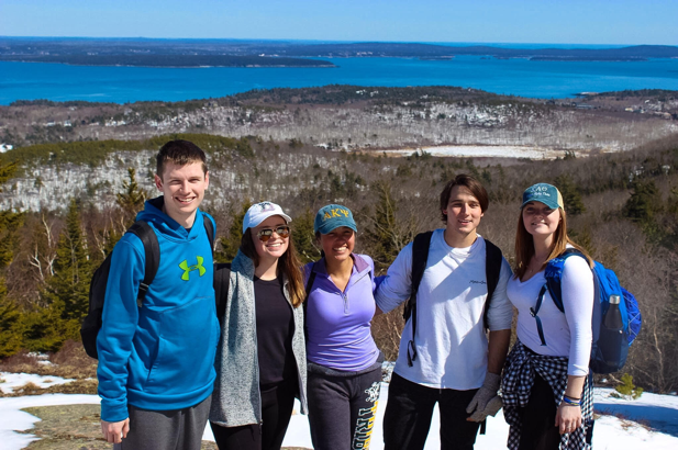Brothers Alex Kennedy, Tiffany Canjura, Amanda Flores, Tom Esposito and Erin Mickles
