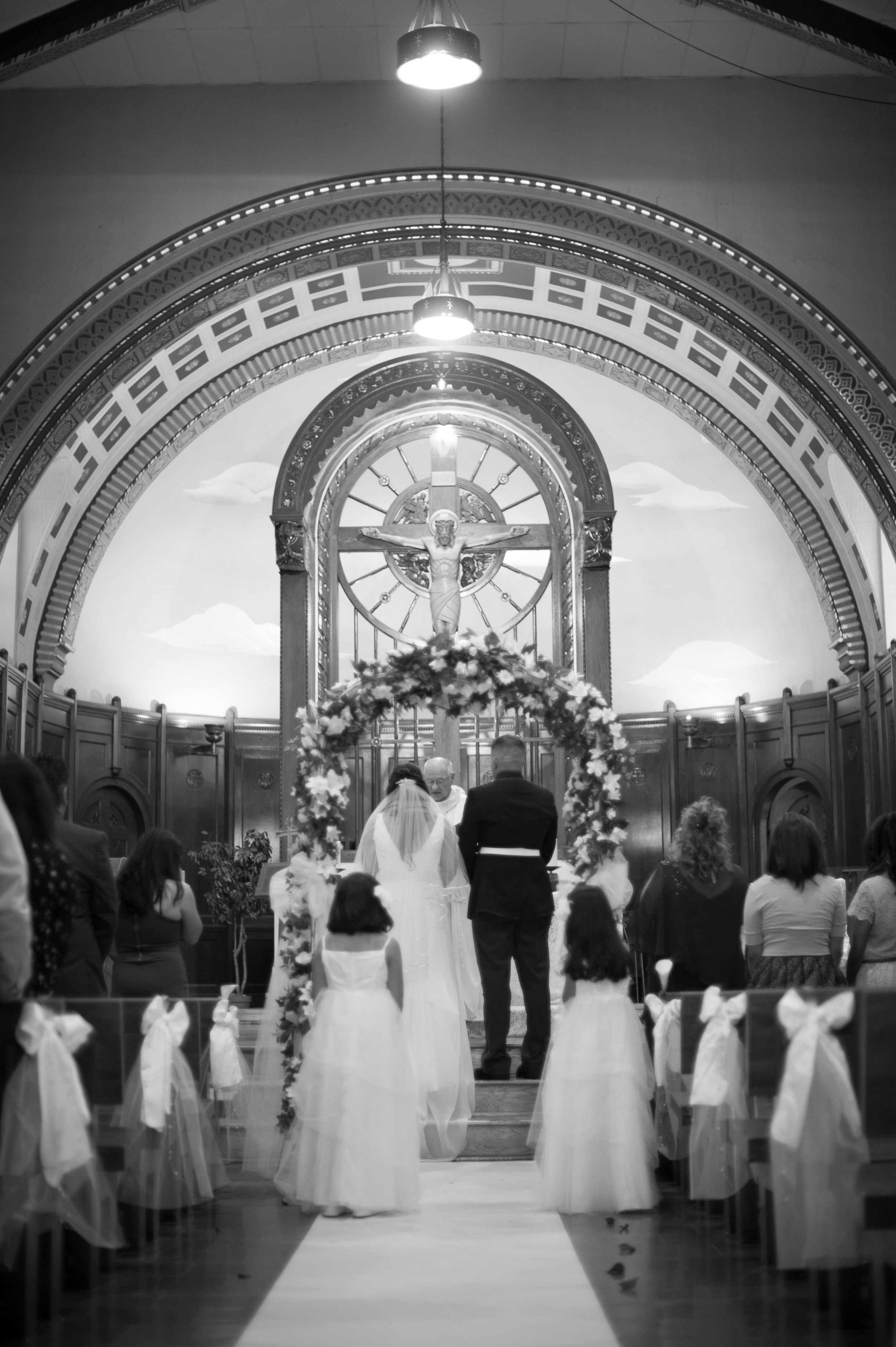 Traditional Small Wedding Chicago Photographer Nomee Photography