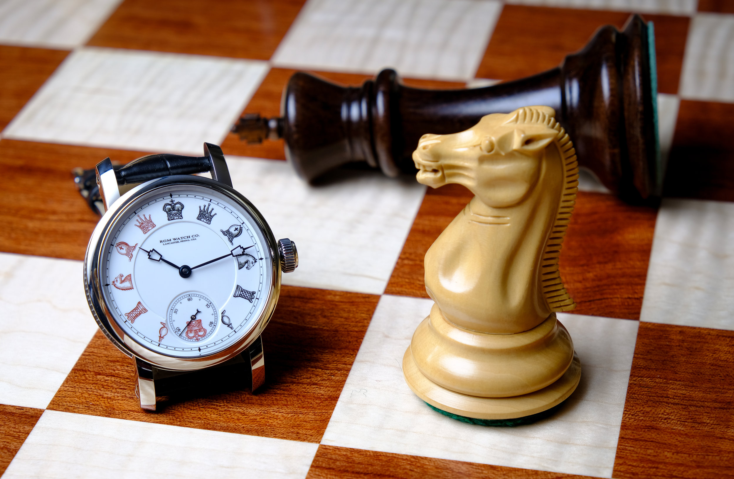 """American Made Chess Board from   """"The House of Staunton"""""""