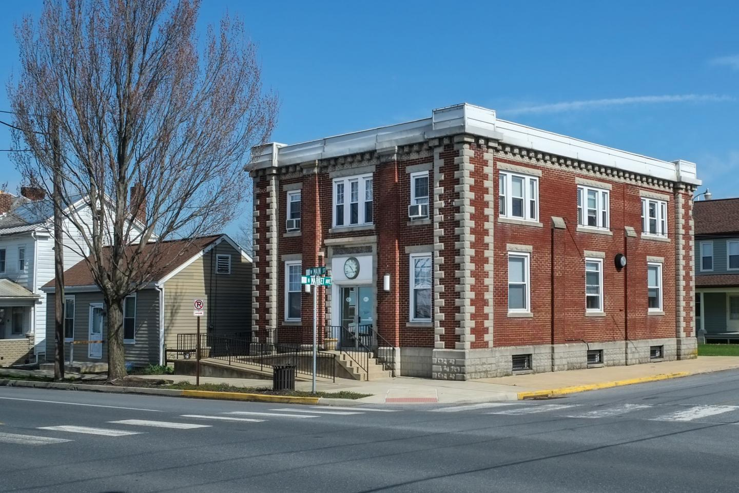 RGM    Watch Company is housed in a former bank in the small town of Mount Joy, Pennsylvania
