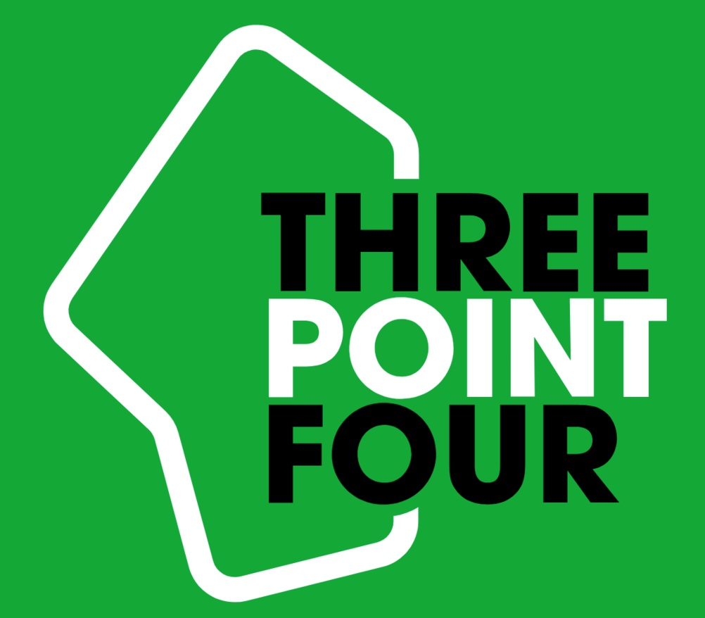 - In 2017 I launched the creative agency Three Point Four Media with Noah Davis. We specialize in all things editorial, from digital magazines and branded content to podcasts and old fashioned print.You can read more about what we do here.Select clients: FIG, Fifth Wall Ventures, Jane Street Capital, Major League Soccer, Seabourn, Time Inc, Visit California.Contact: info@threepointfourmedia.com