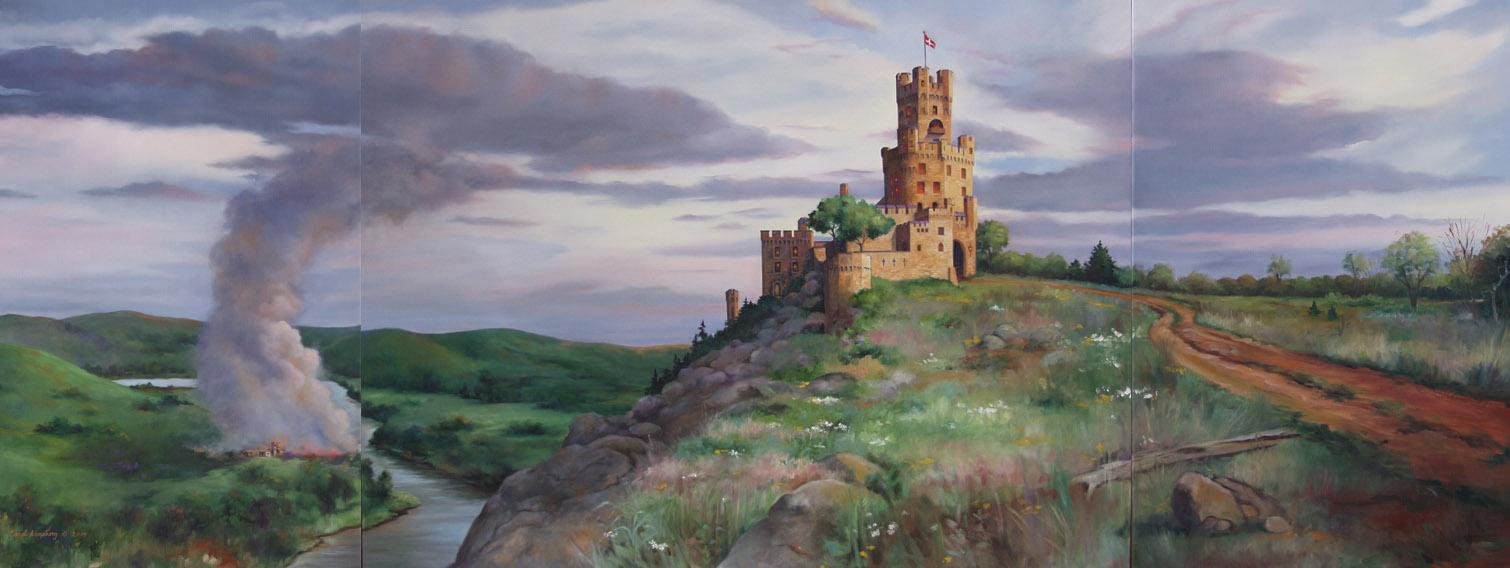 Talley Castle Triptych