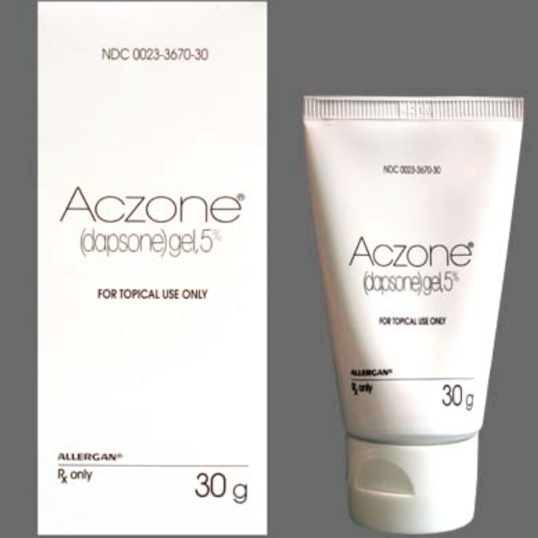 """Acezone  I didn't experience acne as a teenager but I have as an adult. Acne, cyst, """"zits"""" it's all unpleasant. This topical white gelworks great and fast! I did get it from my dermatologist and he gave me a coupon for my purchase. Be sure to ask your doctor for one, it is expensive. If iI have a cystic breakout or pimple, I apply Aczone several times a day and it will be gone. Many medicines leave your skindry and red, Aczone does not. This is a must if you are having annoying breakouts."""