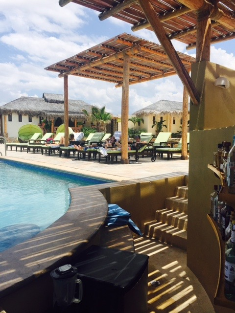 """Kick back at the pool while listening to authentic latin grooves. Time stood still here at the beach club. It's nice to """"just be""""and appreciate who you are and be present on your  journey."""