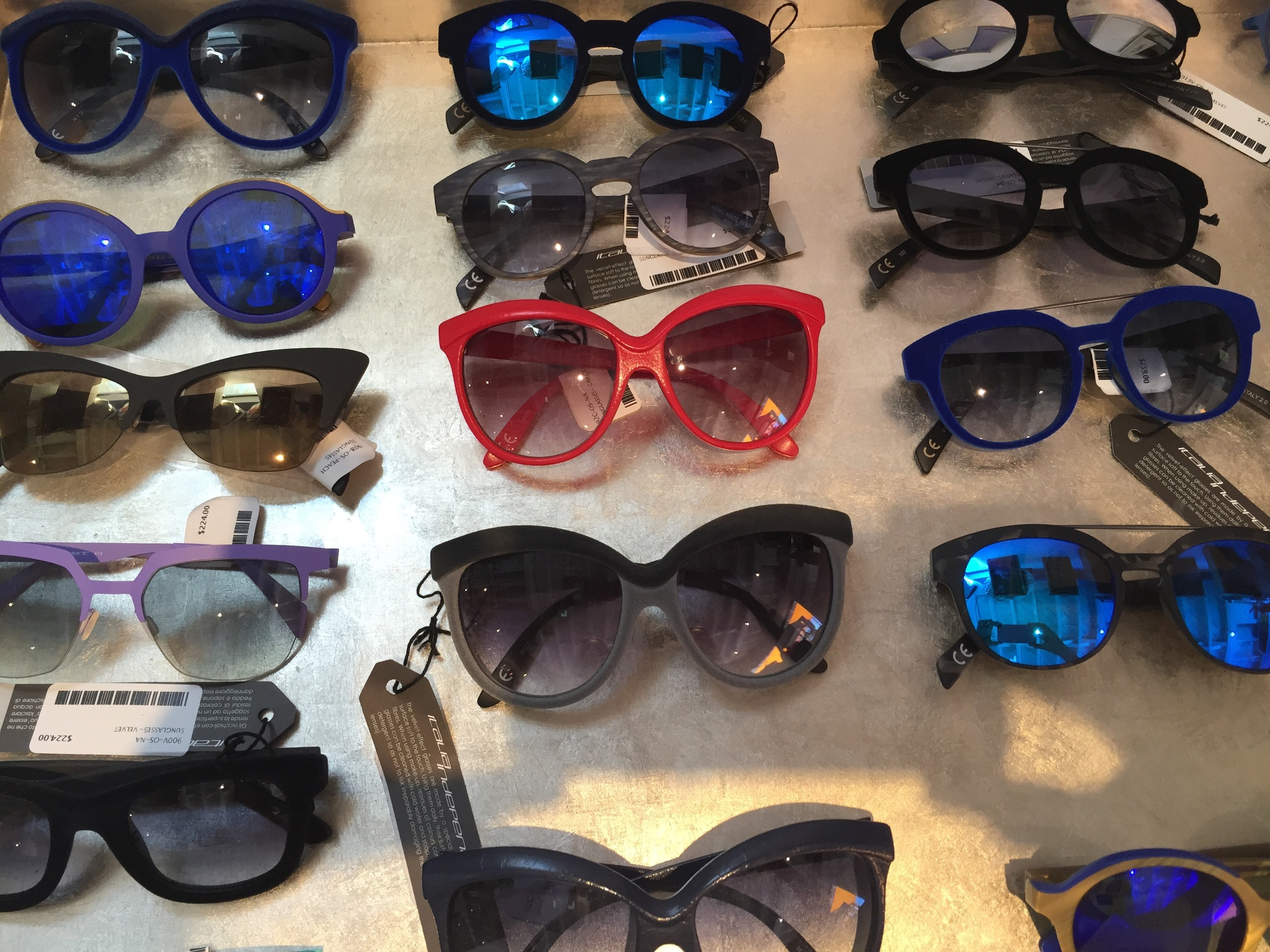 Fantastic sunglass collection /  Italia   Independent  is one of my favorite brands.