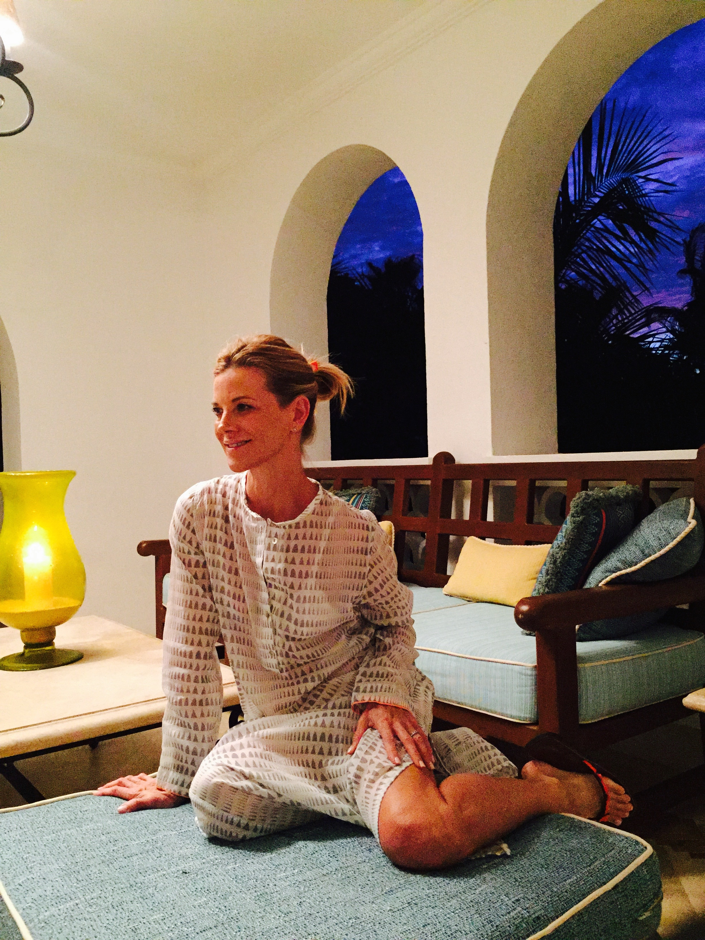 Lemlem Kaftan from Beach House Brand / One&Only Palmilla Hotel In Cabo San Lucas