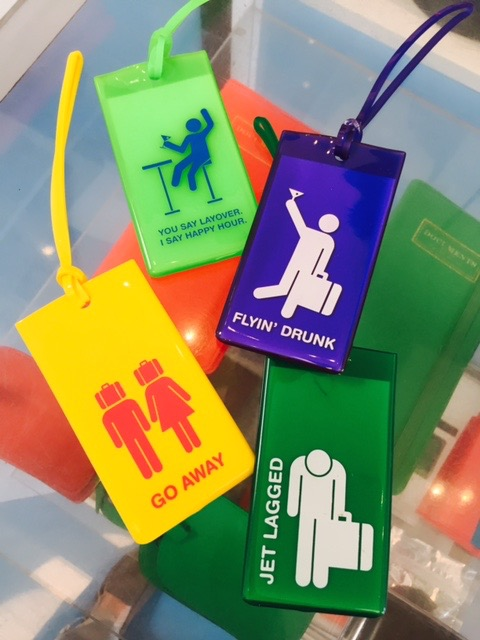 Bring a little fun to your  bag tags .
