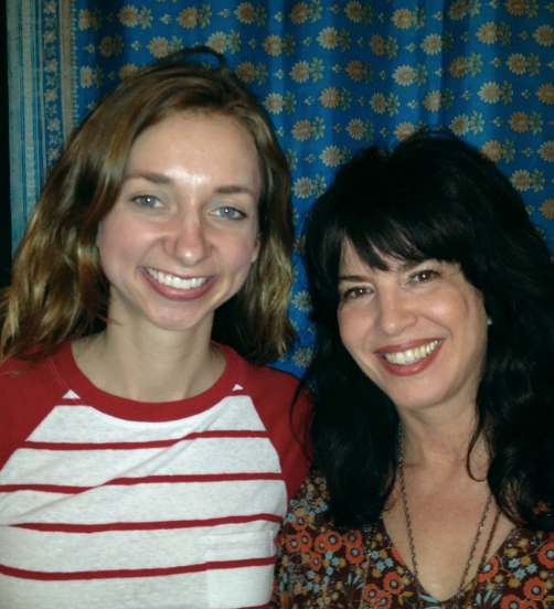 Sterling with  Lauren Lapkus  of Orange Is The New Black