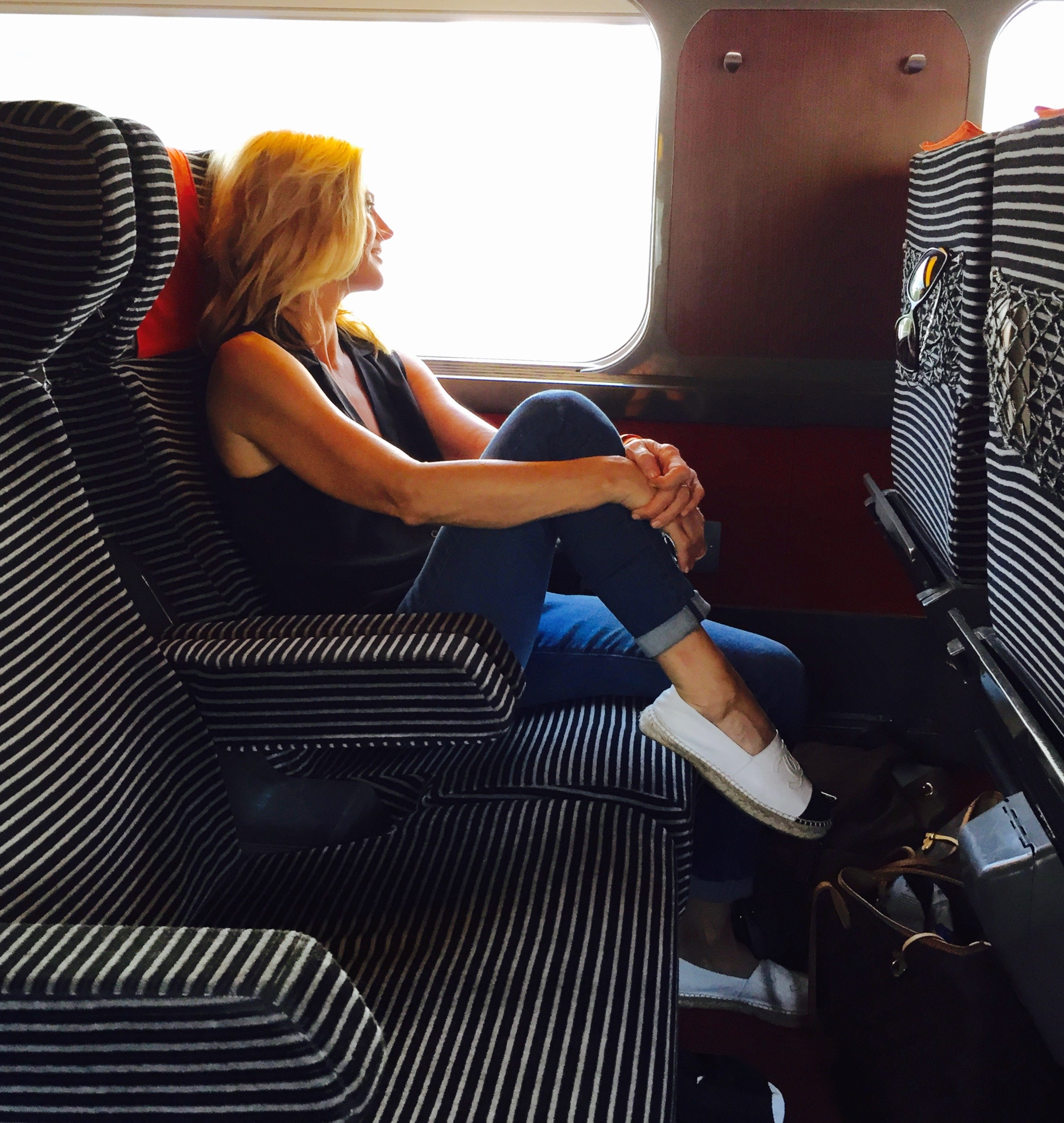 Be the girl on a train