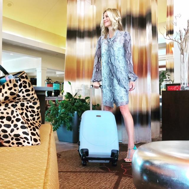 Clare V Leopard Tote - Diane Von Furstenberg Dress