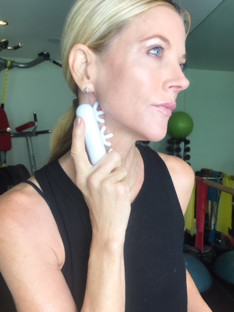 When the fascia is tight, it can constrict the nerves and actually block off the nerve signal! The Autonomic Nervous System (nervous system that controls bodily functions not directed by conscious thought – i.e. breathing) is directly connected and has innervation with the body's fascial system. This has helped so much with my TMJ and neck pain. Great for travel!