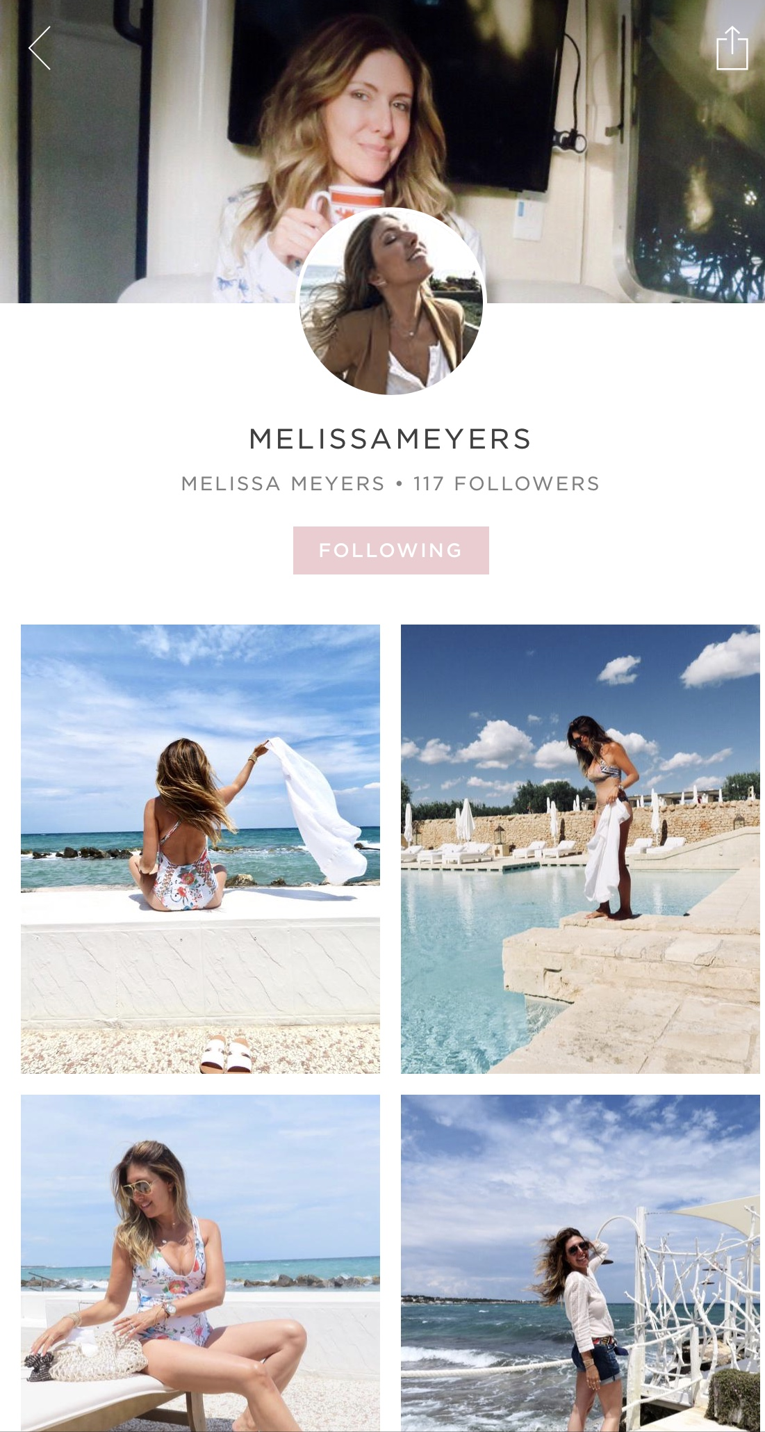 BEGIN TO ADD YOUR FAVORITES -   MELISSA MEYERS