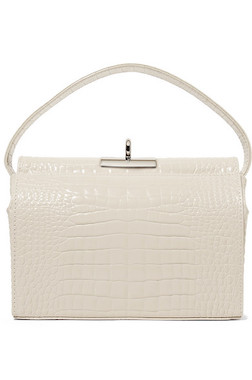 Favorite Korean Find - My go-to white bag for all seasons.