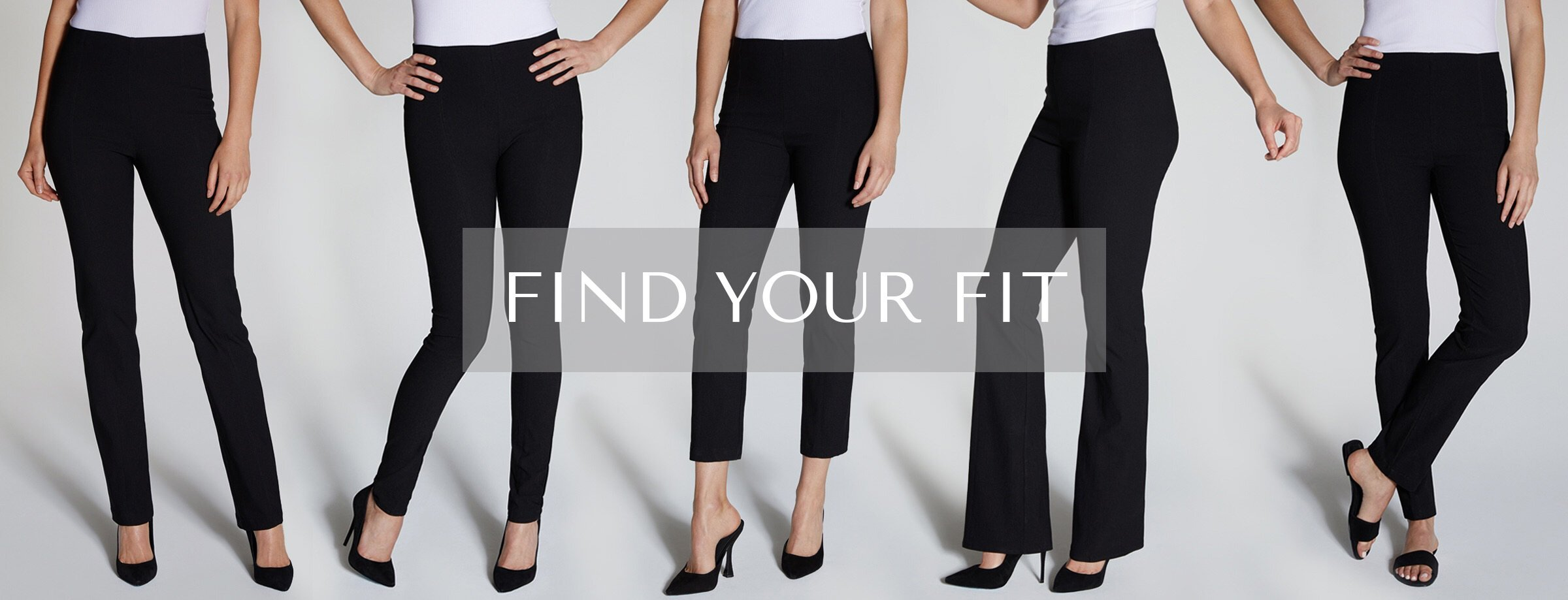 Find your fit  and feel the magic - As seen in O Magazine - Who What Wear - The View - People Magazine.