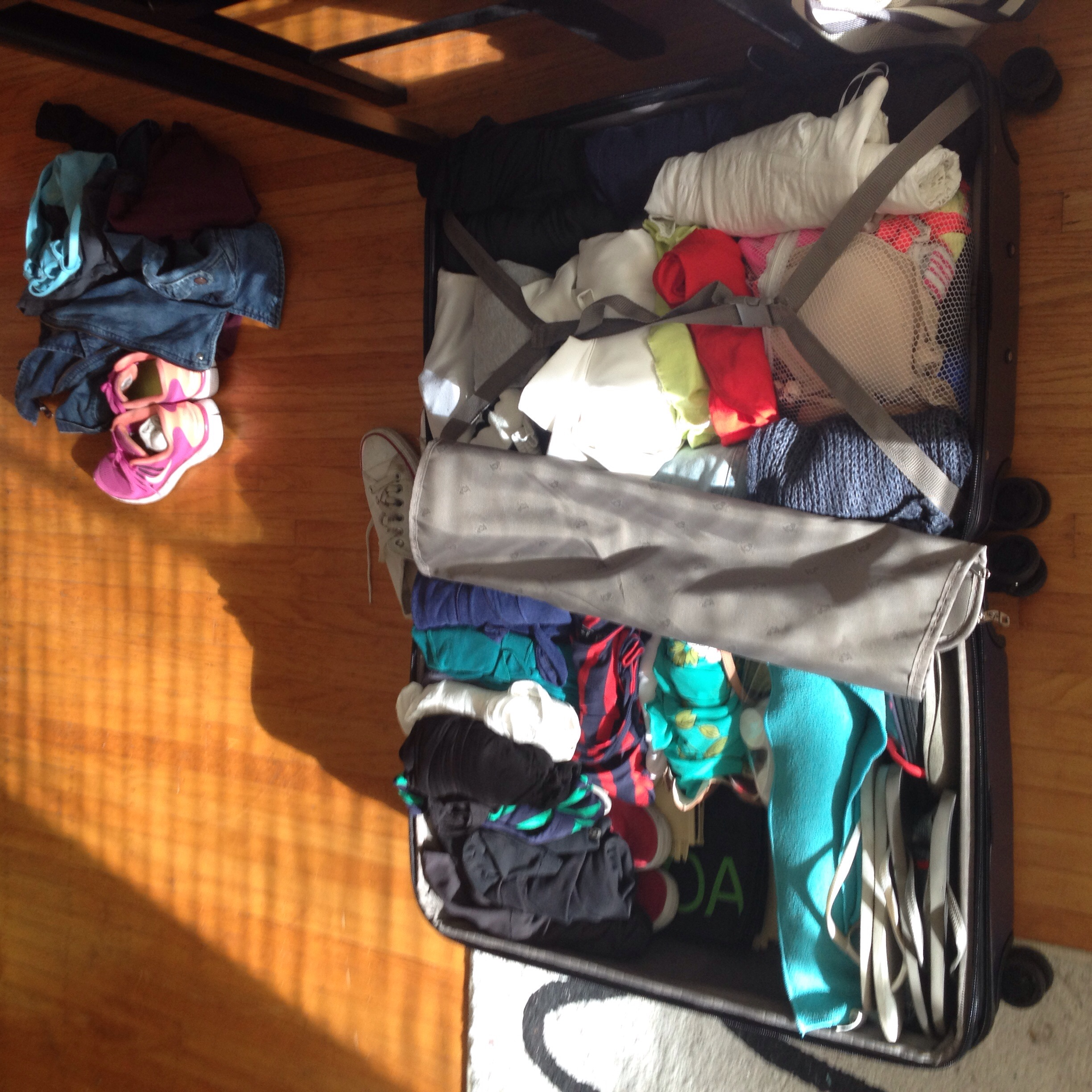 I did it!! Pack ALL the things!