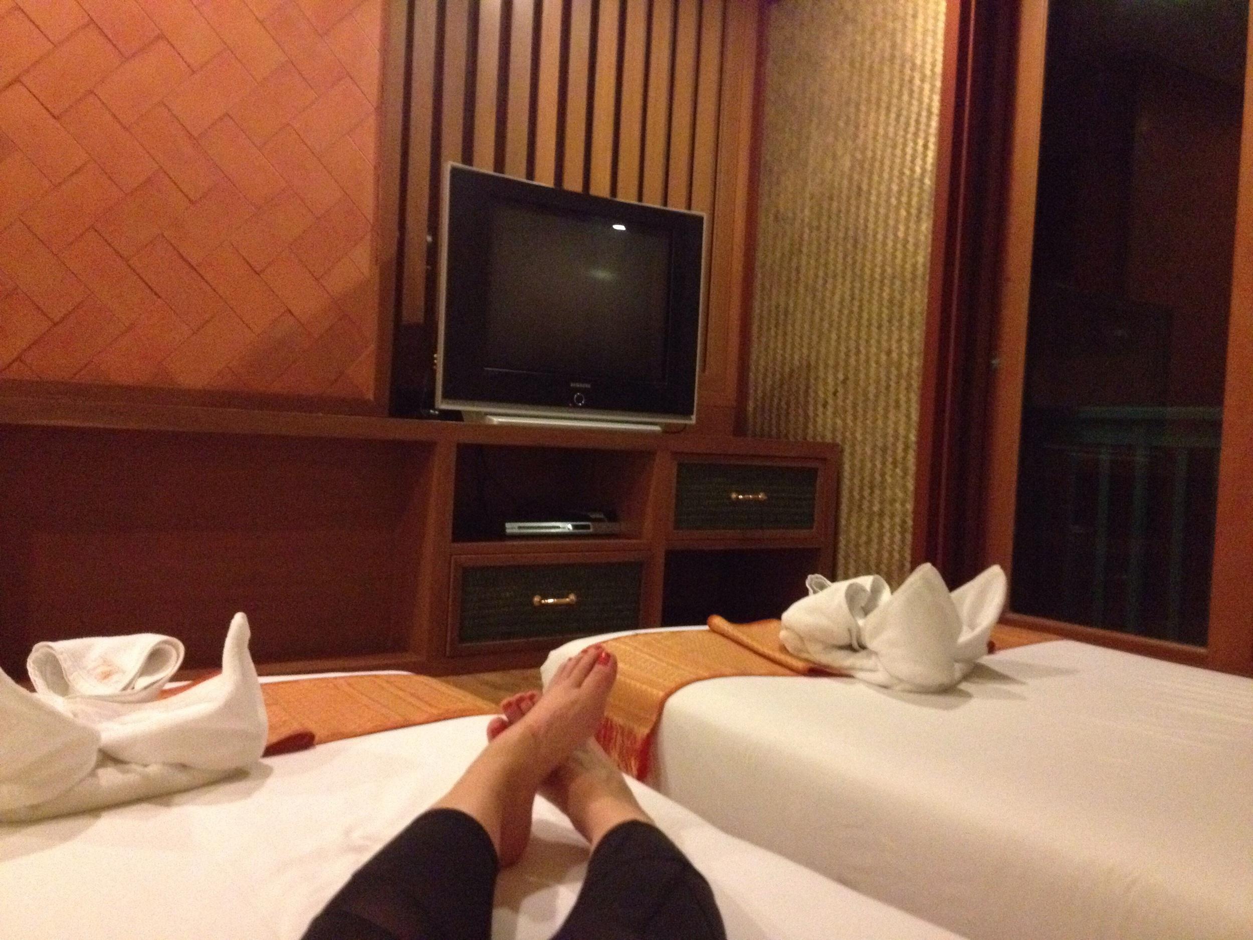 Ahhhhhhh lovely clean hotel room