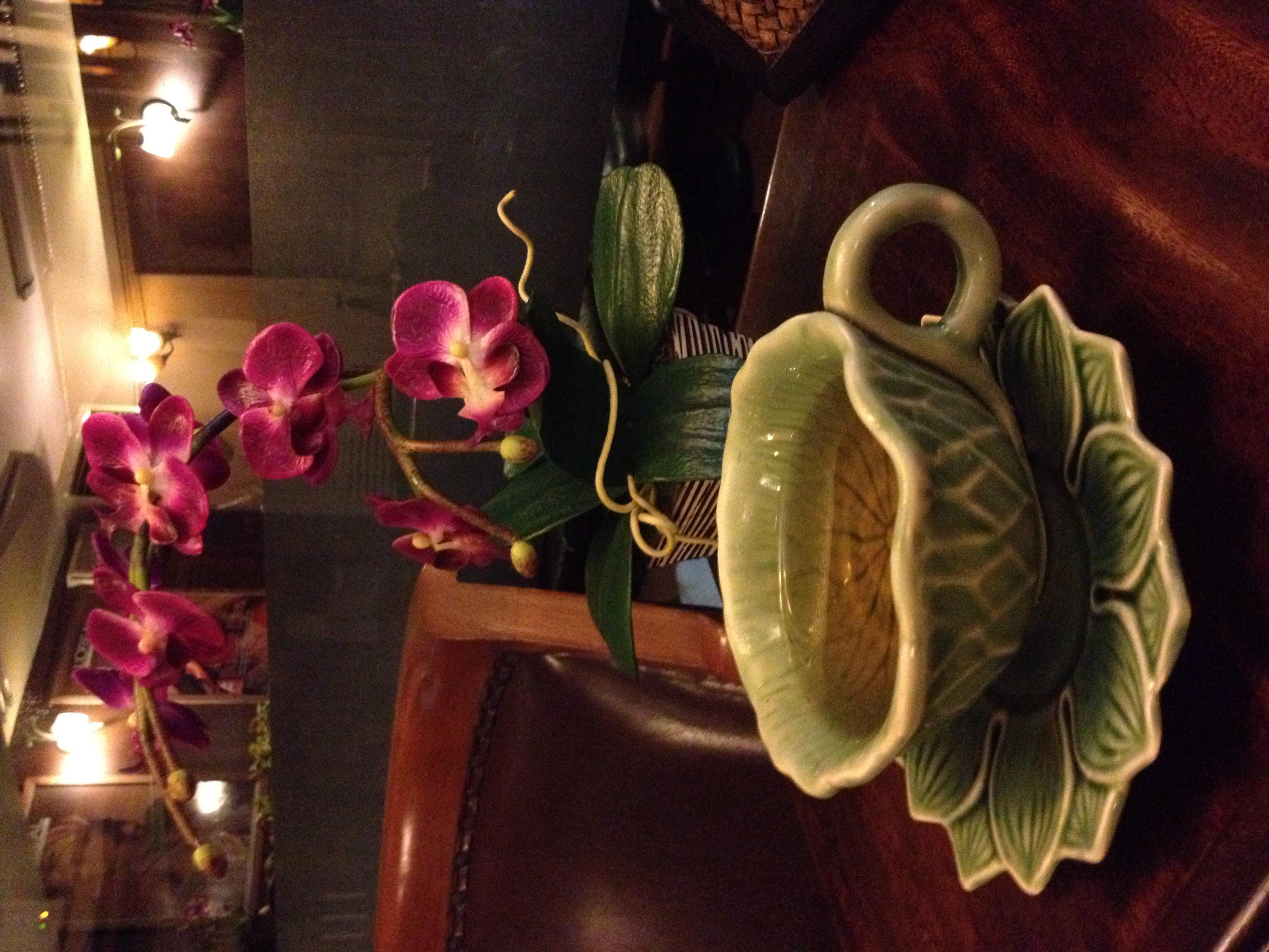 Post facial and massage green tea